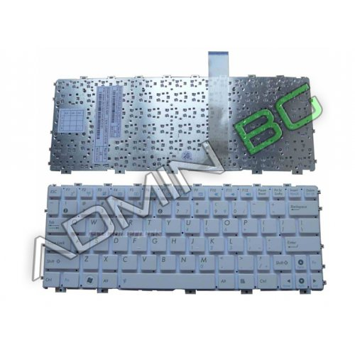 Клавиатура за лаптоп Asus Eee PC 1015PE Without Frame White US/UK