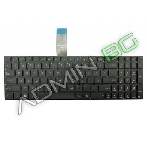 Клавиатура за лаптоп Asus X501 Black Without Frame US