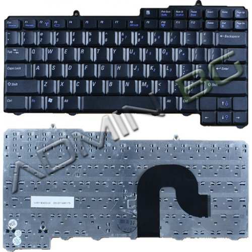Клавиатура за лаптоп Dell Inspiron 1300 B120 B130 Black US/UK