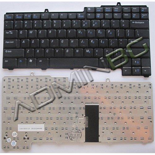 Клавиатура за лаптоп Dell Inspiron 630M 1501 6400 Black US/UK с Кирилица