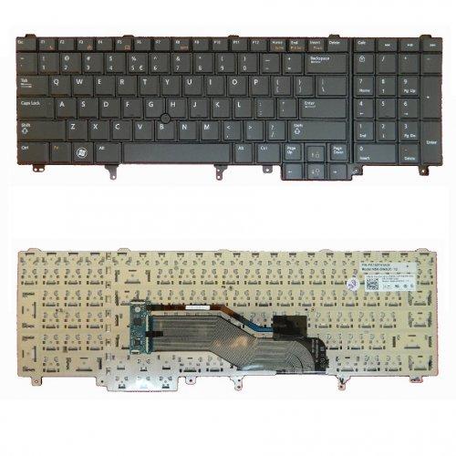 Клавиатура за лаптоп Dell Latitude E6520 US/UK