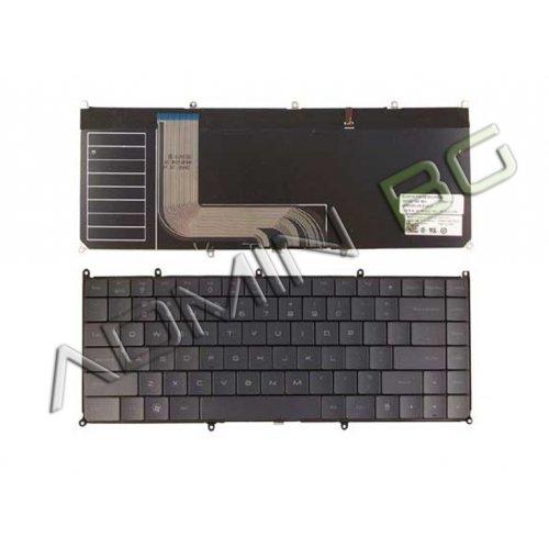Клавиатура за лаптоп Dell Adamo XPS 13-A101 Silver Backlit US/UK с Кирилица