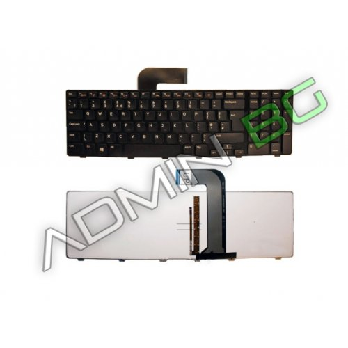 Клавиатура за лаптоп Dell Inspiron 7720 Black Frame Black With Backlit US/UK