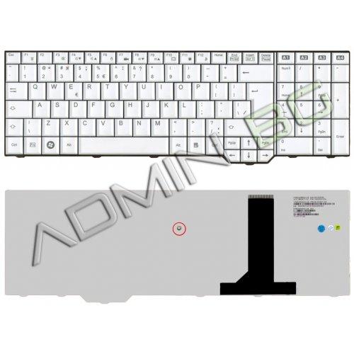 Клавиатура за лаптоп Fujitsu Amilo XA3530 PI3625 LI3910 XI3650 PI3660 White US/UK