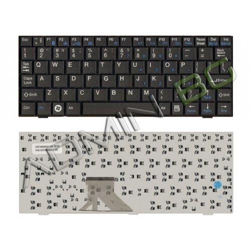 Клавиатура за лаптоп Fujitsu M1010 Mini 3520 Ui3520 US Black US/UK