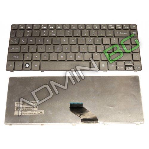 Клавиатура за лаптоп Gateway NV49C Packard Bell EasyNote NM85 NM87 Черна с Кирилица / Black