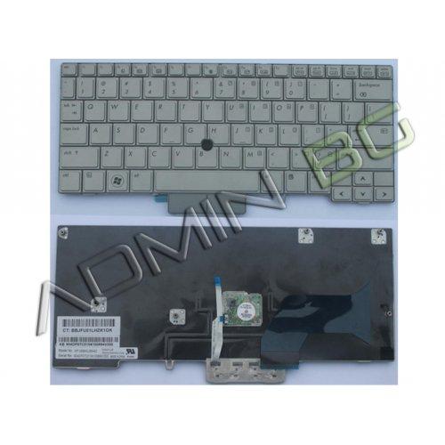 Клавиатура за лаптоп HP 2740P Сребриста With point stick UK US