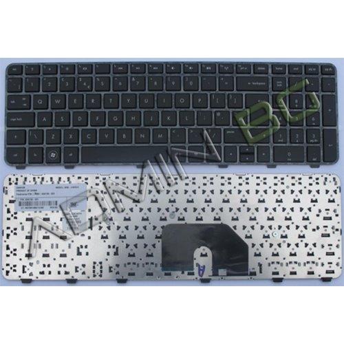 Клавиатура за лаптоп HP DV6-6000 Черна с черна рамка с Кирилица