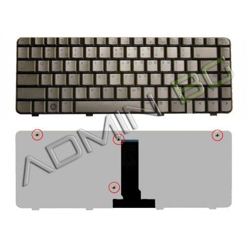 Клавиатура за лаптоп HP Pavilion DV3500 DV3011 Dark Сребриста US