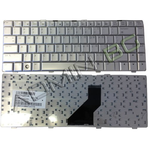Клавиатура за лаптоп HP Pavilion DV6000 DV6100 DV6200 Сребриста с Кирилица