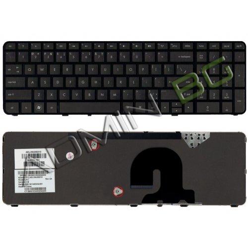 Клавиатура за лаптоп HP Pavilion DV7 DV7-4000 Black Frame Black UK US