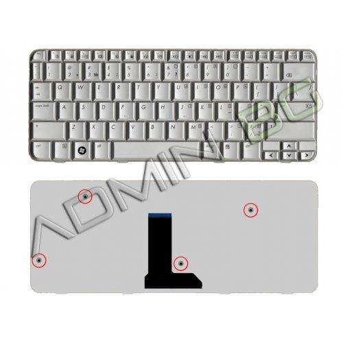 Клавиатура за лаптоп HP TX2000 Сребриста