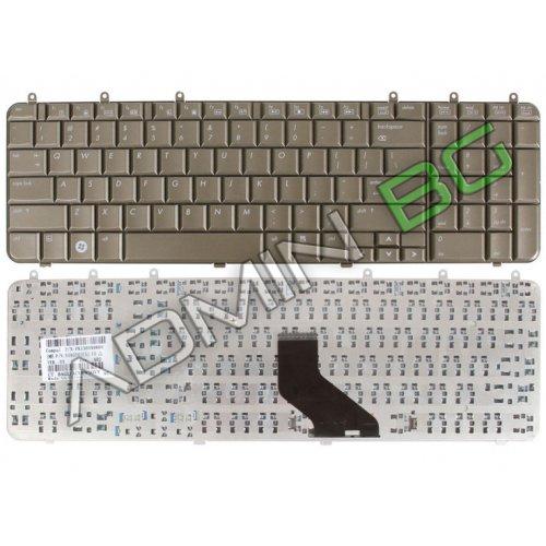 Клавиатура за лаптоп HP Pavilion DV7-1000 DV7-1100 DV7 Бронзова