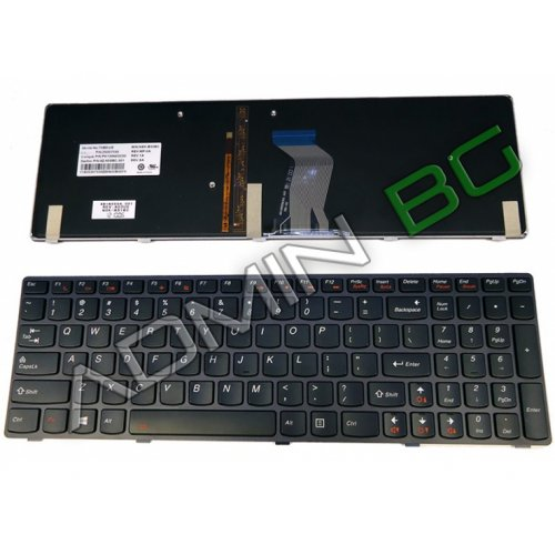Клавиатура за лаптоп Lenovo IdeaPad Y580 Black Frame Black