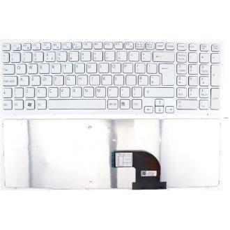 Клавиатура за лаптоп Sony Vaio SVE15 White PERL Frame White US/UK Type 1 OEM