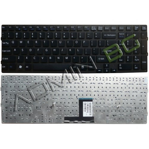 Клавиатура за лаптоп Sony Vaio VPC-EC VPCEC Black Without Frame US