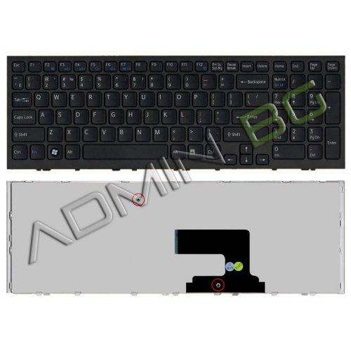 Клавиатура за лаптоп Sony Vaio VPC-EE VPC EE Black Frame Black