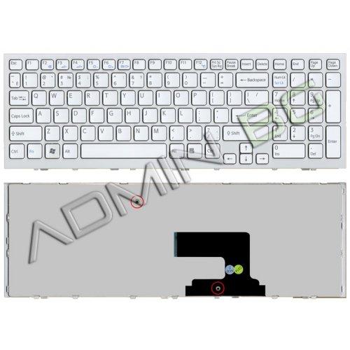 Клавиатура за лаптоп Sony Vaio VPC-EE VPC EE White Frame White