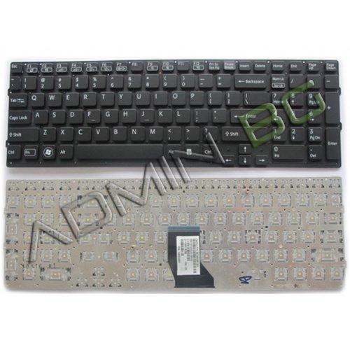 Клавиатура за лаптоп Sony Vaio VPC-CB17 No Frame Black US С Кирилица
