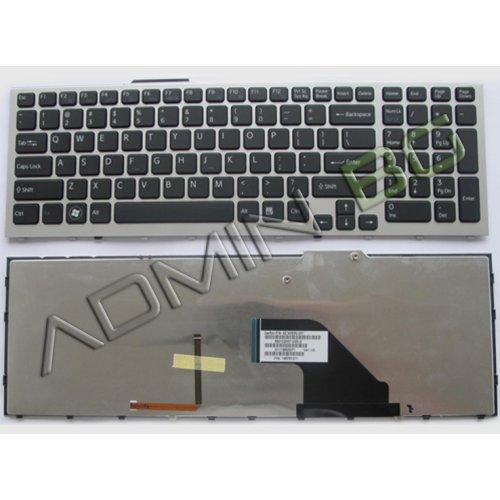 Клавиатура за лаптоп Sony Vaio VPC-F11 VPC-F12 VPC-F13 Черна с Кирилица