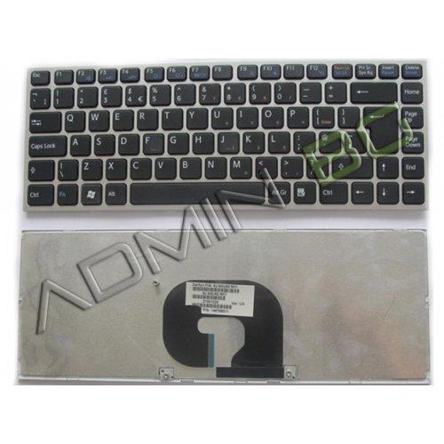 Клавиатура за лаптоп Sony Vaio VPC-Y Series Silver Frame Black С Кирилица