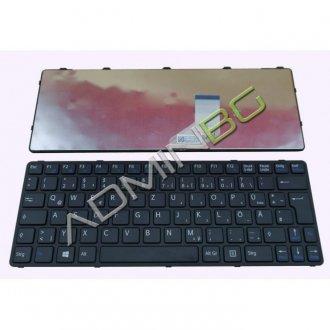 Клавиатура за лаптоп Sony Vaio SVE11 Black Frame Black