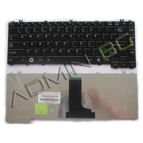 Клавиатура за лаптоп Toshiba Satellite C600D C600 C640 C645 L600 Черна с Кирилица