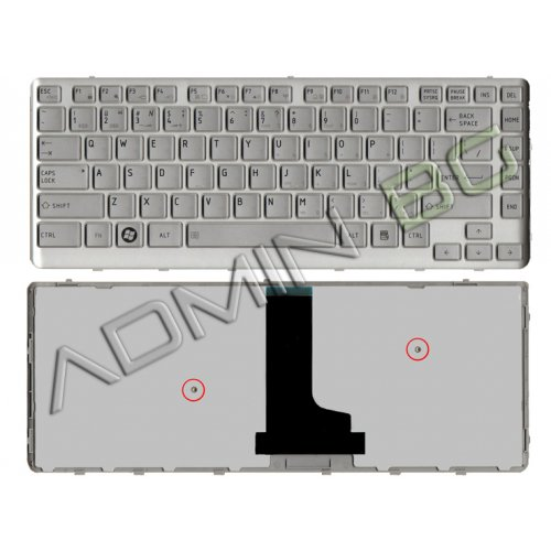 Клавиатура за лаптоп Toshiba T230 Сребриста