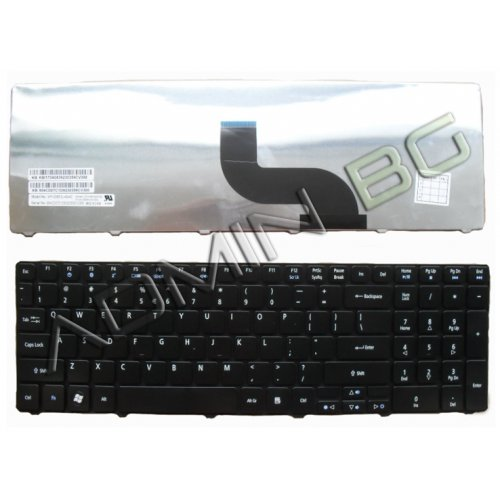 Клавиатура за лаптоп Packard Bell TM81 TM86 TM87 TM89 TM94 TX86 Gateway NV50 Black UK