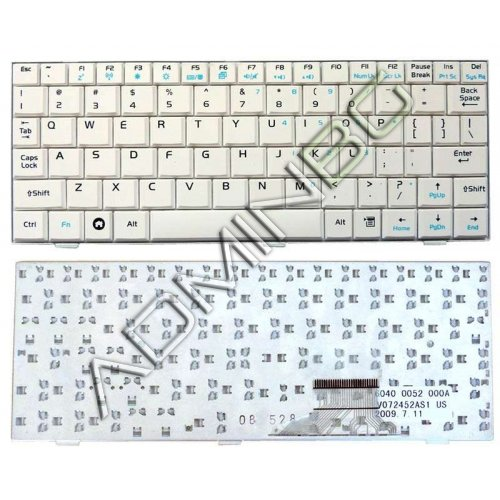 Клавиатура за лаптоп Asus Eee PC 1000HA 1002HA 1000HD 1000HC White US/UK