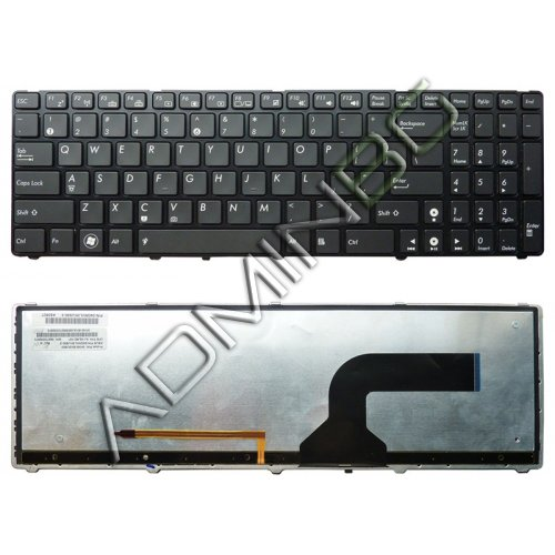 Клавиатура за лаптоп Asus G51 G51J G51J 3D X61 N50 With Backlit US/UK