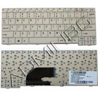 Клавиатура за лаптоп Acer Aspire One A110 A150 ZG5 D150 D250 White US/UK с Кирилица