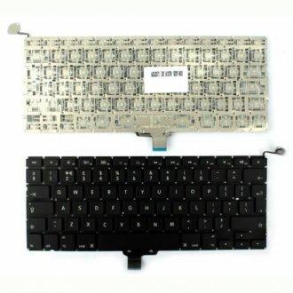 """Клавиатура за лаптоп Apple MacBook Pro Unibody A1278 MB467 Models 13"""" 13.3"""" Черна Без Рамка (Голям Ентър) / Black Without Frame UK"""
