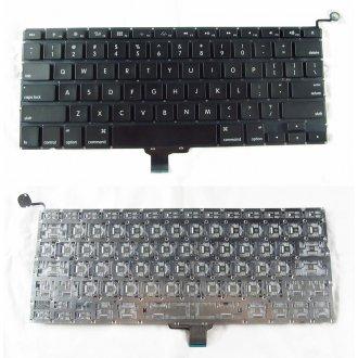 """Клавиатура за лаптоп Apple MacBook Pro Unibody A1278 MB467 Models 13"""" 13.3"""" Black / Черна с Малък Ентър (US)"""