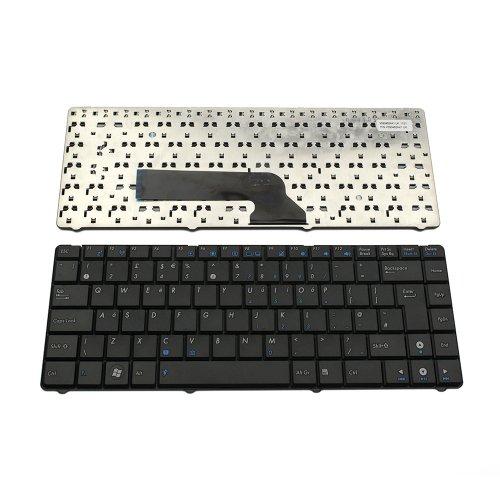 Клавиатура за лаптоп Asus K40 K40C K40IJ K40AD K40AN K40IN K40IP K40IE P30 P80 P81 Черна / Black