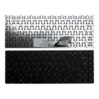Клавиатура за лаптоп Asus T300LA 4010 Черна Без Рамка с Голям Ентър / Black Without Frame UK