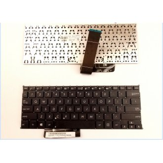Клавиатура за лаптоп Asus VivoBook F200CA X200MA X200CA Черна Без Рамка (Малък Ентър) / Black Without Frame US