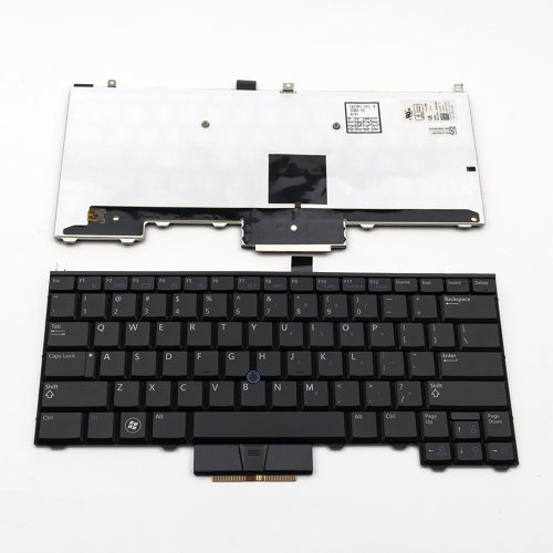 Клавиатура за лаптоп Dell Latitude E4310 Черна с Подсветка и Пойнт Стик / Black With Backlit Point Stick