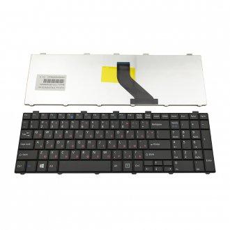 Клавиатура за лаптоп Fujitsu LifeBook AH512 AH530 AH531 Черна / Black с Кирилица