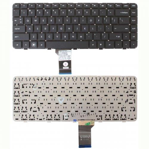 Клавиатура за лаптоп HP Pavilion DV5 DV5-2000 DV5-2040 Черна Без рамка (Малък Ентър) с Кирилица / Black Without Frame US