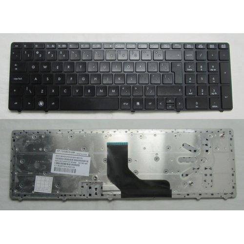 Клавиатура за лаптоп HP ProBook 6560B Черна с Черна Рамка Without Point stick