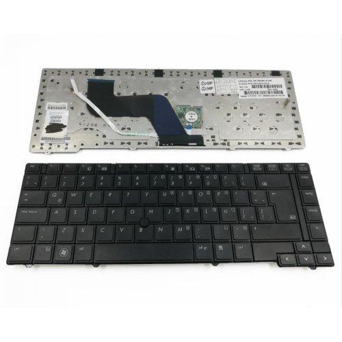 Клавиатура за лаптоп HP ProBook 6440b 6445b Черна с Пойнт Стик с Кирилица / Black With Point Stick