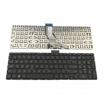 Клавиатура за лаптоп HP 250 G6 Pavilion 15-BS Черна Без Рамка (Малък Ентър) / Black Without Frame US
