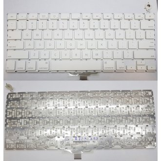 Клавиатура за лаптоп Apple MacBook A1181 White Without Frame US (Small ENTER)