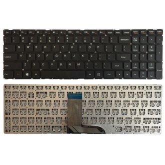 Клавиатура за лаптоп Lenovo Flex 3-15 3-1570 3-1580 Edge 2-15 2-1580 Черна Без Рамка (Малък Ентър) / Black Without Frame US