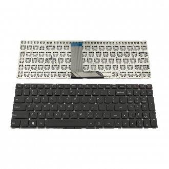 Клавиатура за лаптоп Lenovo Yoga 500-15 500-15IBD 500-15IHW Черна Без Рамка (Малък Ентър) / Black Without Frame US