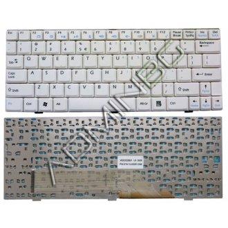 Клавиатура за лаптоп MSI Wind U100 U110 U120 U130 Бяла
