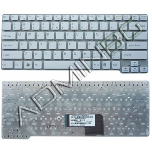 Клавиатура за лаптоп Sony Vaio VGN-CW VGN CW Бяла US