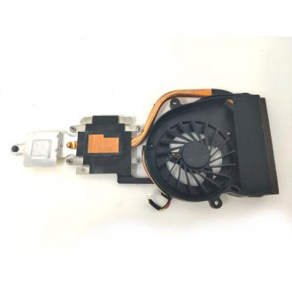 Вентилатор за лаптоп (CPU Fan) Fujitsu Siemens LifeBook AH530 с Меден Охладител Версия 1 / With Heatsink (For Integrated graphics Version 1)