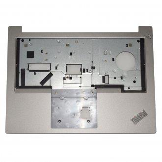 Горен корпус (Upper Cover - Palmrest) за Lenovo Thinkpad E485 E480 Сребрист / Silver